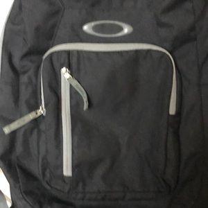 Black Oakley backpack